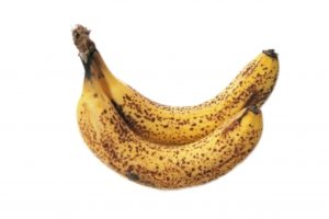 バナナの黒いシミ