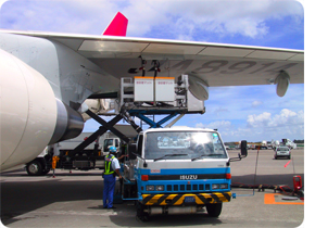 飛行機の燃料は灯油