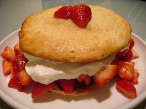 アメリカのショートケーキ
