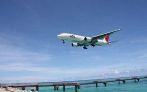 飛行機の離着陸時